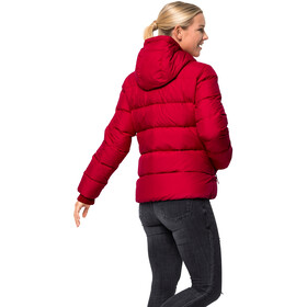 Jack Wolfskin Crystal Palace Giacca Donna, ruby red